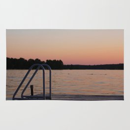 Sunset Swim Rug