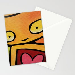 Robot - Mesmerized By You Stationery Cards