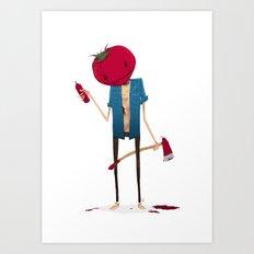 Ketchup? Art Print