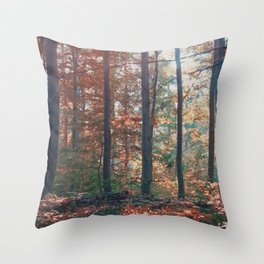 into the woods 13 Throw Pillow