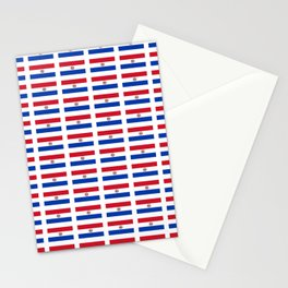 flag of paraguay 2 -paraguyan,asuncion,spanish, south america, latin america,pan flute,coffee,forest Stationery Cards