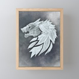 Fenris Framed Mini Art Print