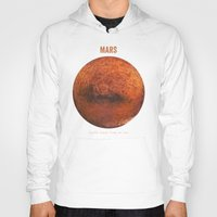 30 seconds to mars Hoodies featuring Mars by Terry Fan
