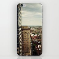 philadelphia iPhone & iPod Skins featuring Philadelphia  by Kameron Elisabeth