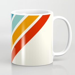 Alator - Classic 70s Retro Summer Stripes Coffee Mug