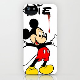 The Poorly Mouse iPhone Case