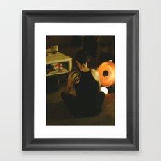 The Girl with the Dragon Tattoo: Lisbeth Salander Framed Art Print