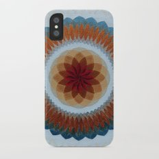 Toroidal Floral (ANALOG zine) Slim Case iPhone X