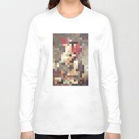 mosaic Long Sleeve T-shirts featuring mosaic by Panic Junkie