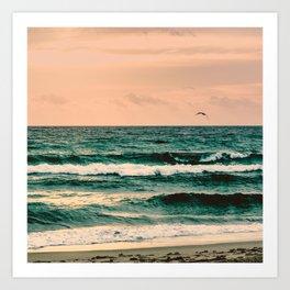 Escape to Paradise Art Print