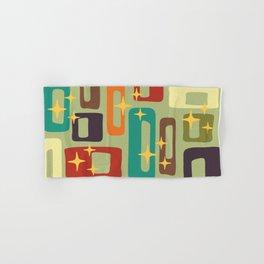 Retro Mid Century Modern Abstract Pattern 225 Hand & Bath Towel