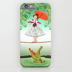 Halloween the girl with the crocodile iPhone 4 4s 5 5s 5c, ipod, ipad, pillow case and tshirt iPhone 6 Slim Case