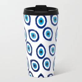 Evil Eye Teardrop Travel Mug