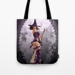 Does my bum look big on this broom ;) Tote Bag