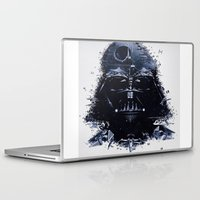 darth vader Laptop & iPad Skins featuring Darth Vader by qualitypunk