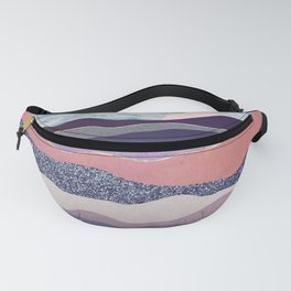 Winter Mountains Fanny Pack