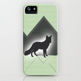 The Story of the Fox iPhone Case
