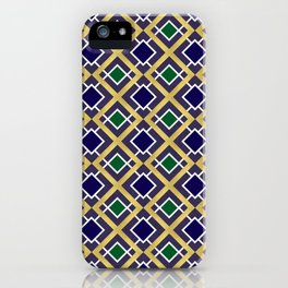 Gold and Jewels iPhone Case