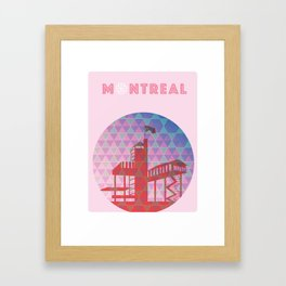 Montreal - Biosphere Framed Art Print