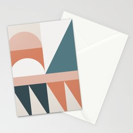 Cirque 03 Abstract Geometric Stationery Cards