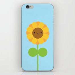 Kawaii Sunflower iPhone Skin