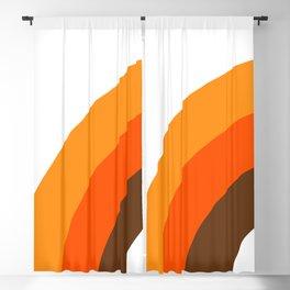 Harvest Rainbow - Left Side Blackout Curtain