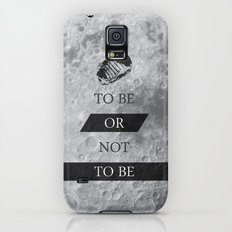 To Be or Not To BE Shakespeare Quotes Slim Case Galaxy S5
