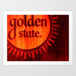 Golden State #2 Art Print