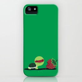 Strawberry Turtle iPhone Case