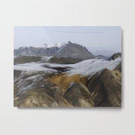 Fjallabak Nature Reserve Metal Print
