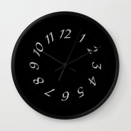 Crystal Time Wall Clock