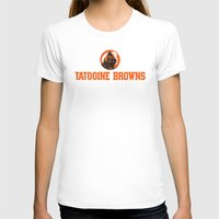 nfl T-shirts featuring Tattooine Browns - NFL by Steven Klock