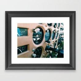 Cessna Panel Framed Art Print