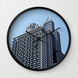 The City of Broad Shoulders Wall Clock