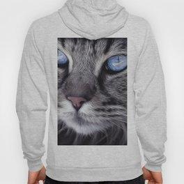 Cat Animal Portrait Hoody
