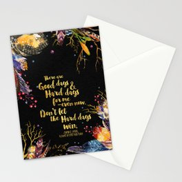 ACOMAF - Don't Let The Hard Days Win Stationery Cards