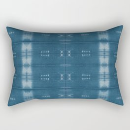 Adire mud cloth Rectangular Pillow