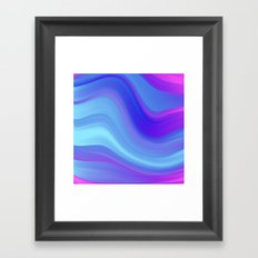 Relax Wave Framed Art Print