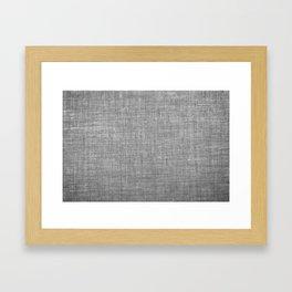 Canvas texture fashion design Framed Art Print