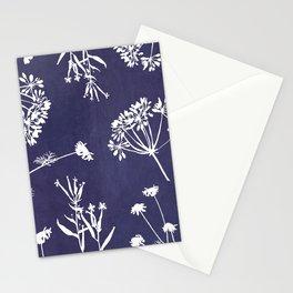 Wildflowers-Indigo Stationery Cards