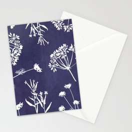 Wildflowers-Indigo Stationery Cards