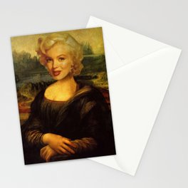 Mona Lisa & Marylin Stationery Cards