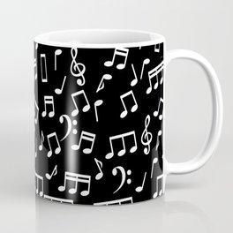 Musical Notes Pattern Coffee Mug