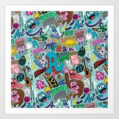 AAAAA's Art Print