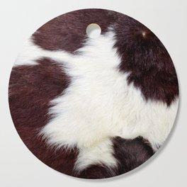 Cowhide Fur Cutting Board