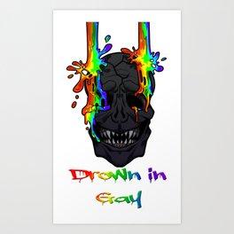 Drown in Gay Art Print