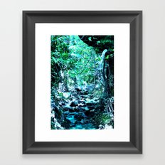 Varnavas Forest Framed Art Print