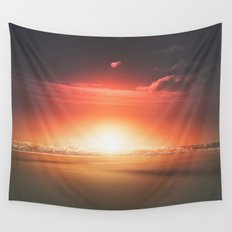 When the day breaks Wall Tapestry