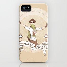 Cupcake Rebel iPhone Case