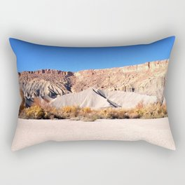 Southwest Desert Dry Mud Flats Rectangular Pillow
